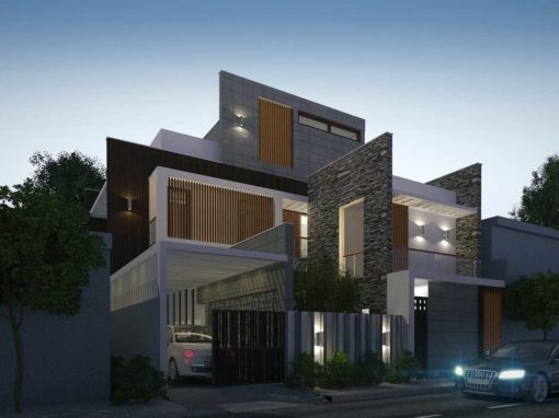 Bungalow Architecture Design in Nagapattinam