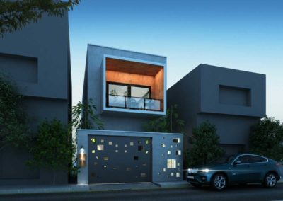 Residence-Architecture-Design-in-Thiruvarur---dlea---night-view