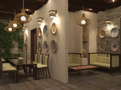 Restaurant Interior Design – Thanjavur