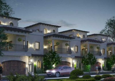 Villa-Architecture-Design-in-Coimbatore---Spanish-Style-Twin-Houses--dlea--Cover-Image