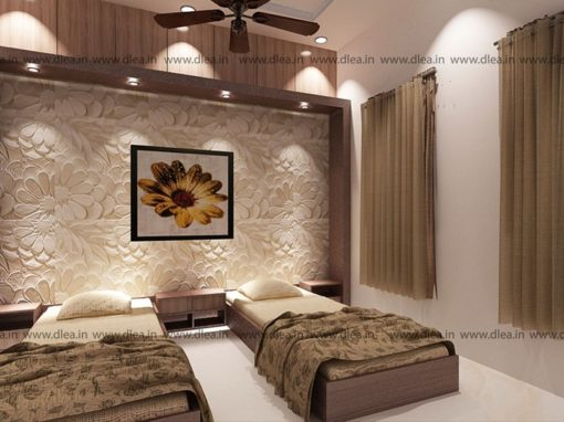 Villa Interior Design in Thanjavur – Interiors for Mr. JAFFAR